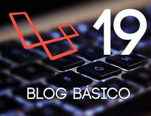 19- Maquetando páginas del Blog | Crear un blog con Laravel 5.1