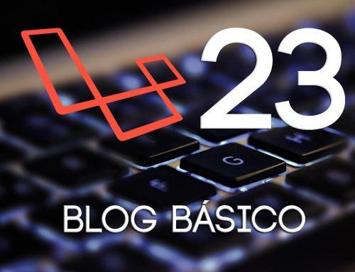 23- Felicitacion + recursos | Crear un blog con Laravel 5.